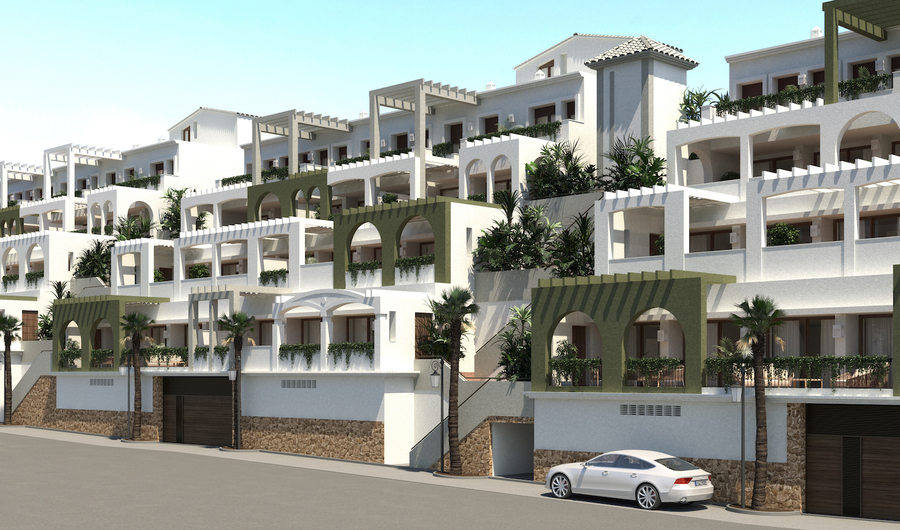 Altea Alicante Apartment - Middle Floor 136850 €